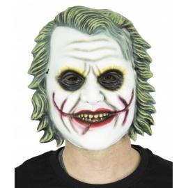 Masque clown noir et blanc