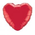 Ballon coeur 45cm ruby red