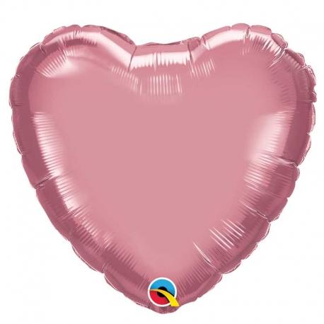 Ballon Etoile 40x40cm rose gold