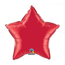 Ballon Etoile 50cm ruby red