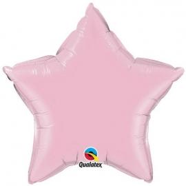 Ballon étoile 50cm pearl pink