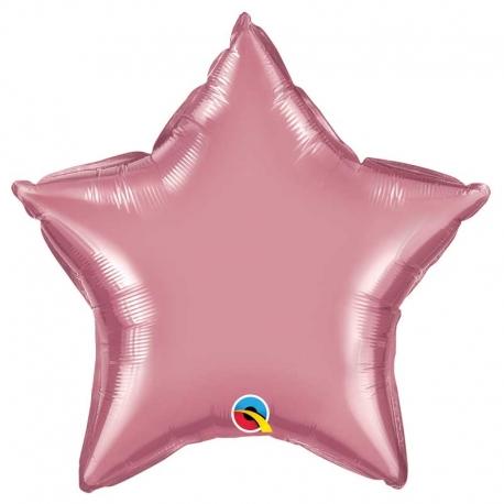 Ballon etoile 48x45cm irisé
