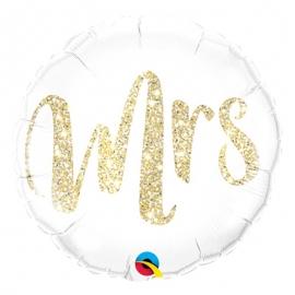 Ballon aluminium 45cm Mr glitter