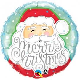 Ballon aluminium 45cm Christmas Santa