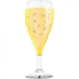 Ballon aluminium 99cm coupe de champagne