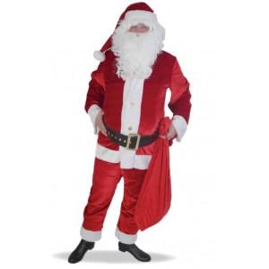 Costume Pere Noel américain luxe