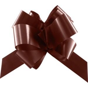 Noeud polypro chocolat x10