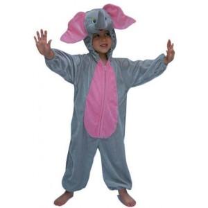 Costume peluche éléphant enfant