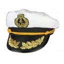 Casquette capitaine tissu
