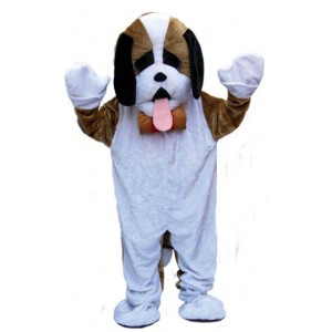 Location costume Mascotte St Bernard