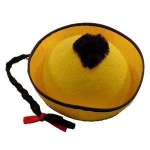 Chapeau mandarin jaune