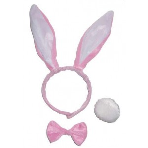Set lapin rose