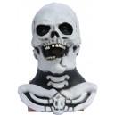 Masque squelette + cou
