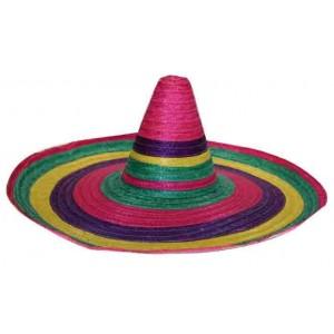 Sombrero mexicain paille 65cm