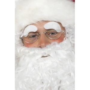 Sourcils de Père Noël adhésifs