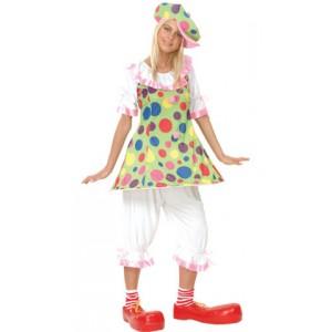 Déguisement adulte Clown femme