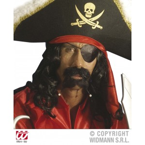 Cache oeil pirate en satin