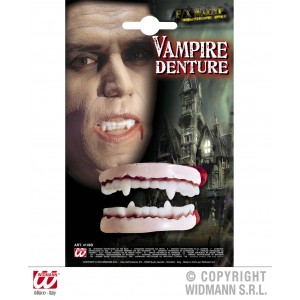 Dentier vampire réaliste