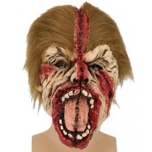 Masque latex homme déoupé