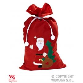 Hotte de Noël décorée