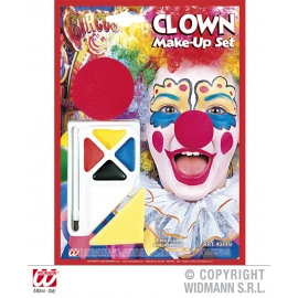 Set de maquillage clown avec nez