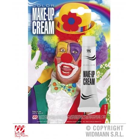 Maquillage en tube blanc