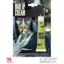 Maquillage en tube vert