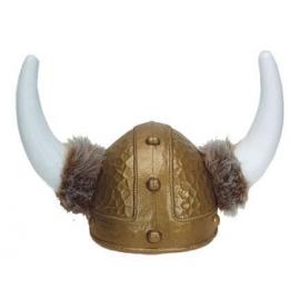Casque viking + fourrure