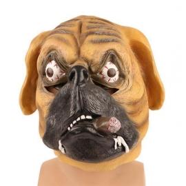 Masque chien cigare