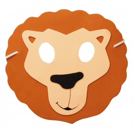 Masque enfant lion