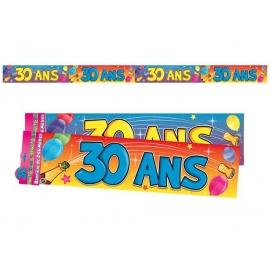 Bannière 30 ans