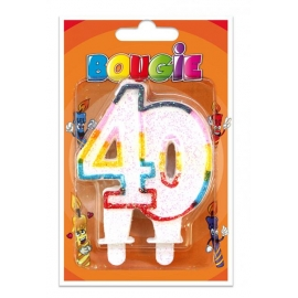Bougies 40 ans