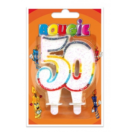 Bougies 50 ans