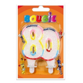 Bougies 80 ans