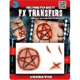Transfert 3D - Etoile satanique