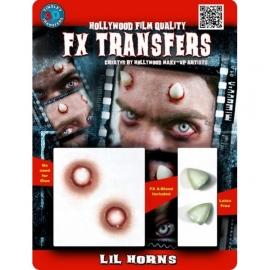 Transfert 3D - Petites cornes