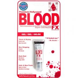 Tube gel épais sang rouge sombre 8.2ml