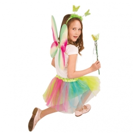 Set Papillon Multicolore Enfant