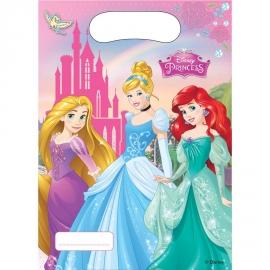 6 Sacs Cadeaux Princesses Disney