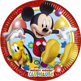 8 Assiettes Mickey 23cm