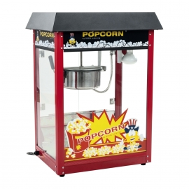 Location machine pop corn