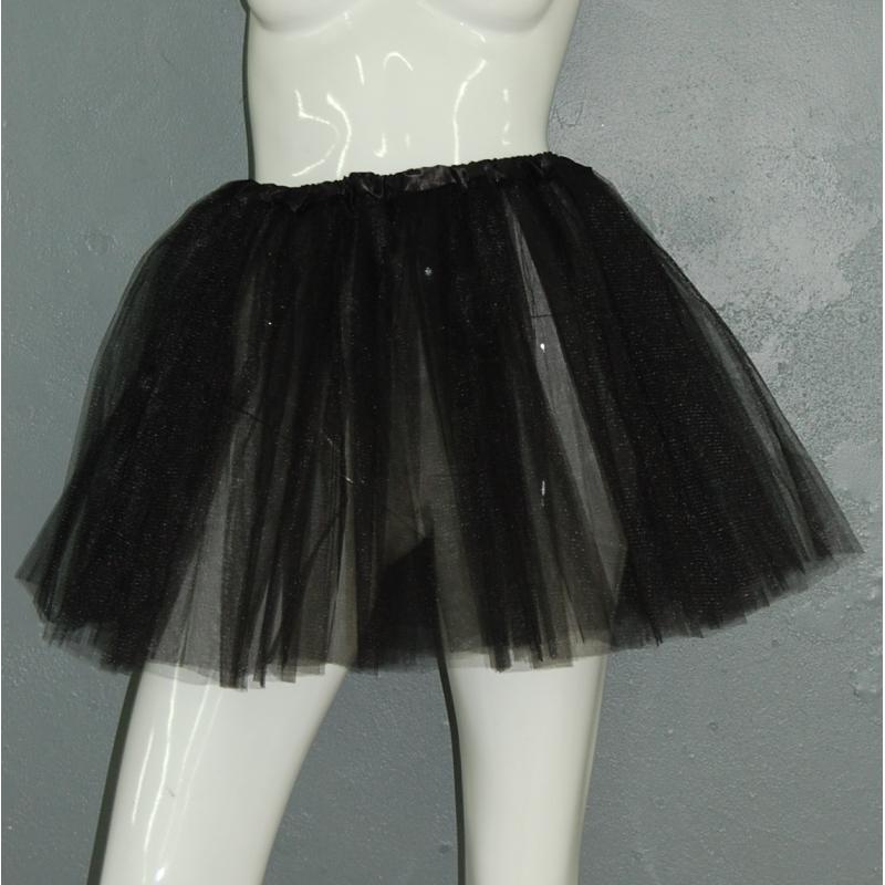 accessoire d guisement tutu noir jupe femme festimania. Black Bedroom Furniture Sets. Home Design Ideas