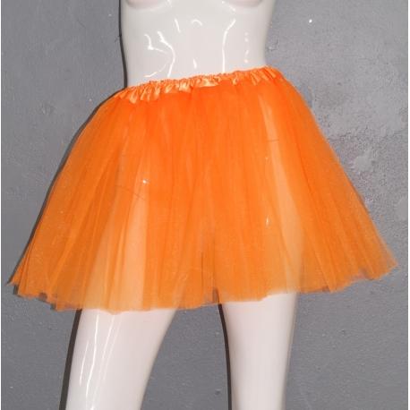 Tutu néon orange