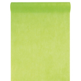 Chemin de table intissé vert