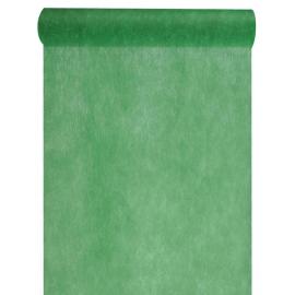 Chemin de table intissé vert sapin