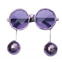 Lunettes Disco ball - Violet