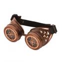 Lunettes Steampunk bronze