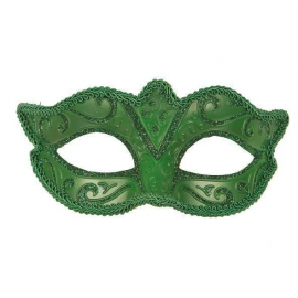 Loup vénitien vert