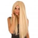 Perruque extra longue blonde