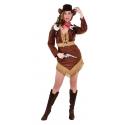 Location costume Cowgirl Robe vache